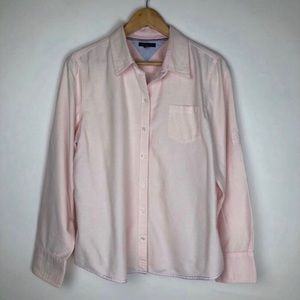 Tommy Hilfiger Pale Pink Button Down Size XL